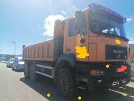 kipper vrachtwagen > 7.5 t MAN 33.373. 6X6 EURO 2 1996
