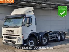 chassis cabine vrachtwagen Volvo FM 400 8X4 Manual Steelsuspension 2009