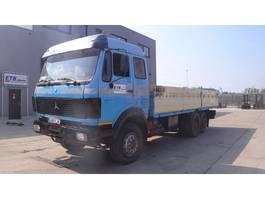 platform vrachtwagen Mercedes Benz SK 2235 (BIG AXLE / V8-ENGINE / MANUAL GEARBOX / 8 TIRES 1985