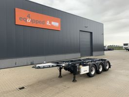 container chassis oplegger Lag 20FT/3-axles, empty weight: 3.160kg, discbrakes, ADR (EXII, EXII, FL, AT... 2015