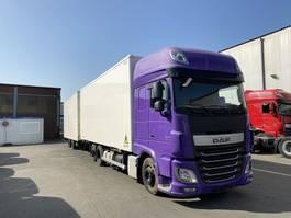 platform vrachtwagen DAF Komplettzug   FAR XF460SSC, Intarder, NAVI ,TOP 2014