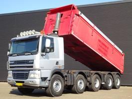 kipper vrachtwagen > 7.5 t DAF CF 85 410 10x4 TIPPER / EURO 5 / SPRING / STEEL SUSPENISON 2009