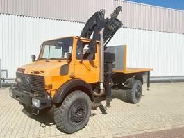 overige vrachtwagens Unimog U 1850 L 4x4 U 1850 L 4x4 mit Kran MKG HLK 140, 18,3m-270kg! 1993