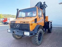 overige vrachtwagens Unimog U 1300 L 4x4 U 1300 L 4x4 mit Kran MKG HLK 80 1987