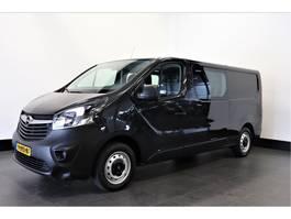 gesloten bestelwagen Opel Vivaro 1.6 CDTI L2H1 Dubbele Cabine - Airco - Navi - Cruise - PDC - € 17... 2018