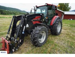 standaard tractor landbouw Case Farmall 115A w / Trima 240P LOW HOURS 2013