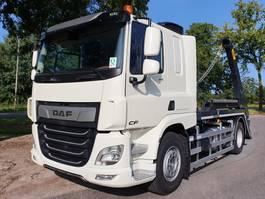 containersysteem vrachtwagen DAF CF 410 FA 4x2 Sleeper Cab Hyva Portaalarm (Nieuw) 2020