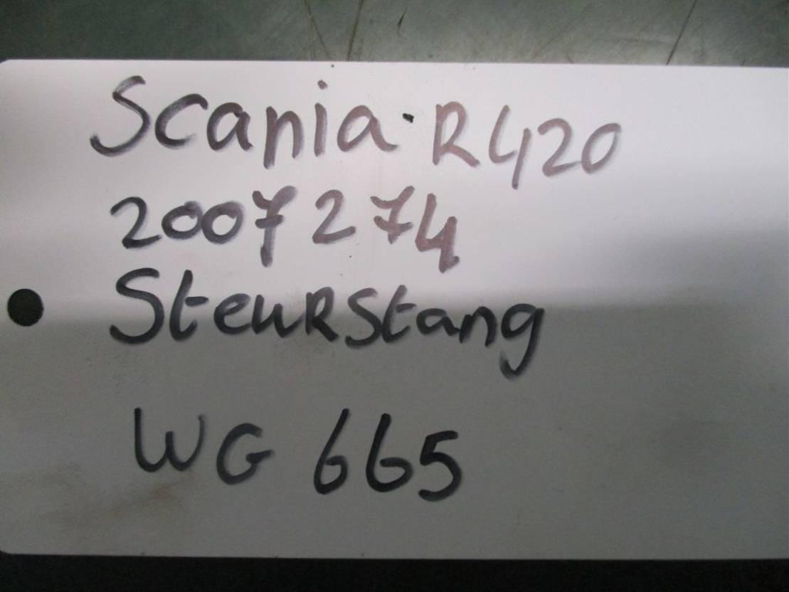 Stuurinrichting vrachtwagen onderdeel Scania 2007274 stuur stang R 420