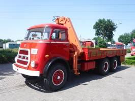 kraanwagen DAF KIKKER DAF AT 1900 6X4 WITH CRANE 1971