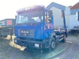 wissellaadbaksysteem vrachtwagen MAN 18.284 4x2 BB 18.284 4x2 BB Tele-Absetzer eFH. 1999