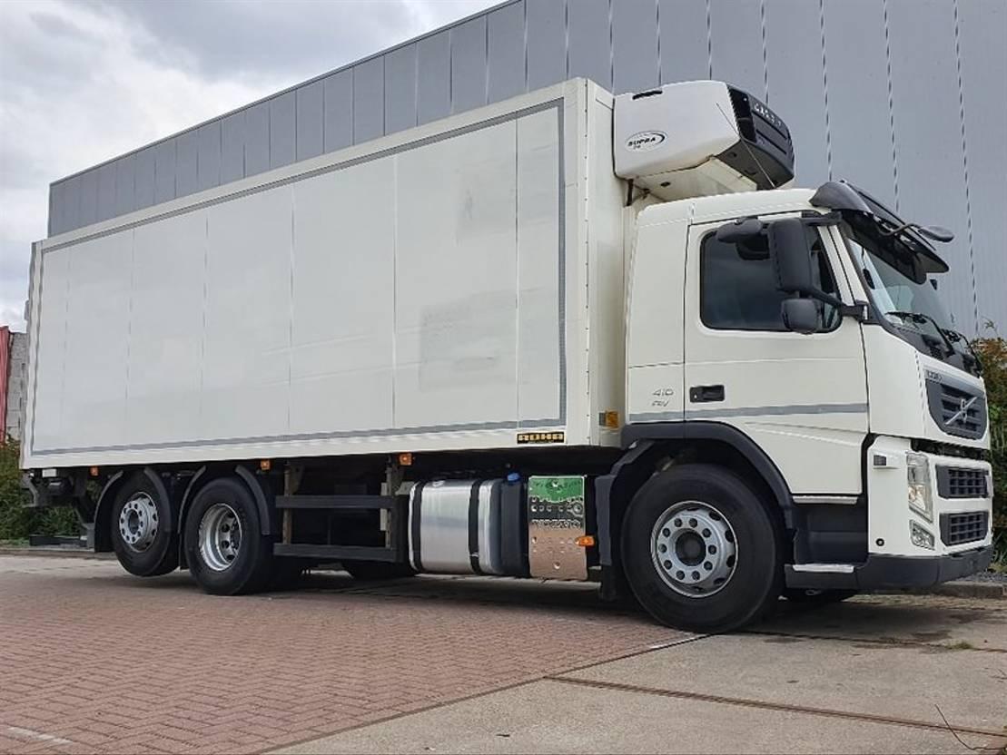 koelwagen vrachtwagen Volvo FM 410 6x2*4 carrier supra 2012