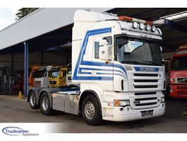 standaard trekker Scania R560-V8 Highline, 6x2 Boogie, Retarder, Truckcenter Apeldoorn 2007