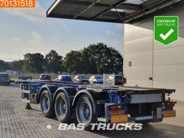 container chassis oplegger Lag 0-3-39 CD 3 axles ADR 1x 20 ft 1x30 ft 2004