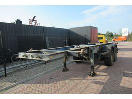 container chassis oplegger Renders 20 FT Chassis / SAF 1992