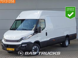 gesloten bestelwagen Iveco Daily 35C16 L4H2 Dubbellucht Automaat Euro6 PDC L3H2 16m3 A/C 2018
