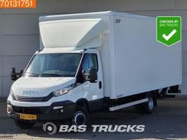 bakwagen bedrijfswagen < 7.5 t Iveco Daily 70C18 72C18 Automaat Luftfederung Koffer LBW Laadklep Bakwagen A/... 2017