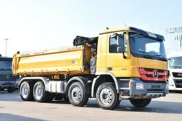 kipper vrachtwagen > 7.5 t Mercedes-Benz Actros 3241 8x4 Meiller Bordmatik 2011