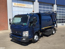 vuilkar camion FUSO Canter 9C15 Duonic 7m3 2016