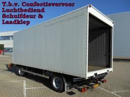 overige vrachtwagen aanhangers Pacton - Vrachtwagen Aanhangwagen Gesloten, WF-DL-09 2002