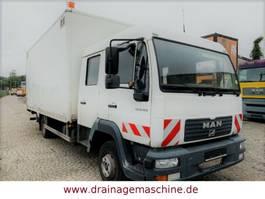 bakwagen bedrijfswagen < 7.5 t MAN MAN 8.180 Koffer DoKa LBW 2 x AHK 6 Sitze
