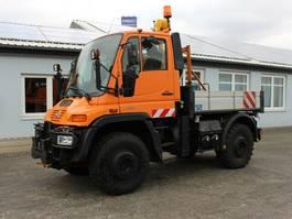open laadbak vrachtwagen Unimog U400 Bj. 2004 193tkm! HU NEU