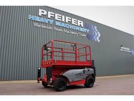 schaarhoogwerker wiel Haulotte COMPACT 10DX Diesel, 4x4 Drive, 10.2m Working Heig 2006