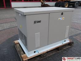 standaard aggregaat SDMO RES13EC 11.6KVA GAS / LPG GENERATOR 230V NEW UNUSED 2014