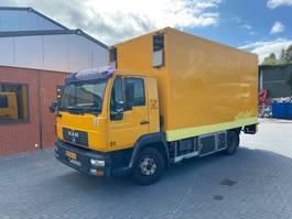 bakwagen vrachtwagen MAN 12.180 2003