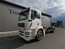 chassis cabine vrachtwagen MAN TG 360 A 2002