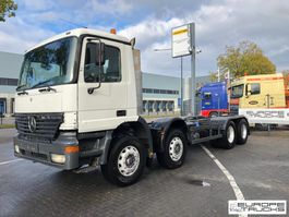 chassis cabine vrachtwagen Mercedes-Benz Actros 3235 Full steel - Manual - PTO - Airco 2000