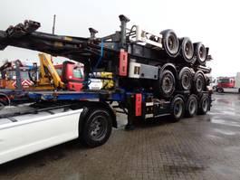 container chassis oplegger Groenewegen + Van Hool 2011 + Van Hool 2010 + ADR + 20FT - 30FT 2008