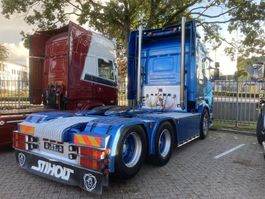 standaard trekker Scania R500 6x2 full air - side pipe - danish interior !!!! 2006