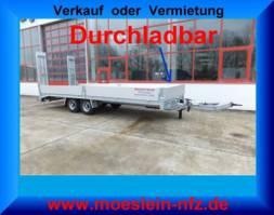 dieplader oplegger Möslein TTT 11- 7,28  Neuer Tandemtieflader, 7,28 m Ladefläche 2020