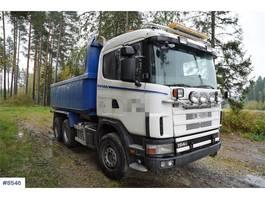 kipper vrachtwagen > 7.5 t Scania R164 Tipper truck 2002