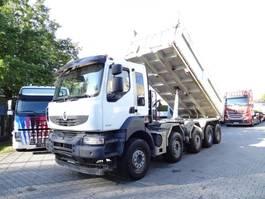 kipper vrachtwagen > 7.5 t Renault KERAX 520 10X4 2012
