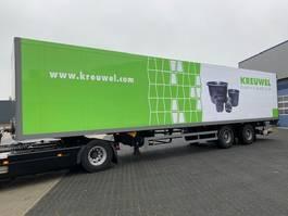 gesloten opbouw oplegger Schmitz Cargobull SKO 20, Gestuurd, Lift-as, Taillift 2.000 Kg (NEW 2019) 2004