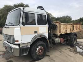 kipper vrachtwagen > 7.5 t Iveco 190-32 **TIPPER-CRANE-FRENCH TRUCK** 1990