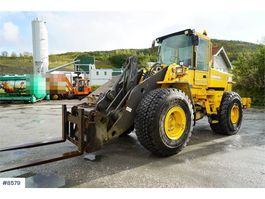 wiellader Volvo L120C wheel loader WATCH VIDEO 1997
