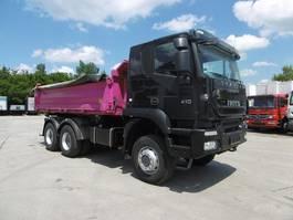 kipper vrachtwagen > 7.5 t Iveco Trakker 410 Allrad 6x6 Tüv neu Meiller Kipper 2011