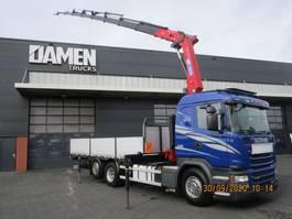 kraanwagen Scania G 490 LB 6x2 Euro 6 2014