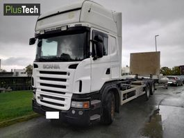 containersysteem vrachtwagen Scania R480 2010