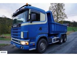 kipper vrachtwagen > 7.5 t Scania R124 470 6x4 tipper truck WATCH VIDEO 2002