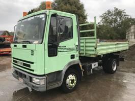 kipper vrachtwagen > 7.5 t Iveco EuroCargo 75 75E15 **TIPPER-BENNE-BELGIAN TRUCK** 1994