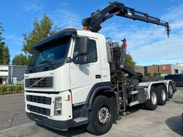 containersysteem vrachtwagen Volvo FM 13-400 8X4 MET MULTILIFT 17 T + HIAB 144E-3 PRO 2006 2006