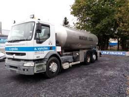 tankwagen vrachtwagen Renault Premium 420 DCI 6x2 WATER TANK! 2002