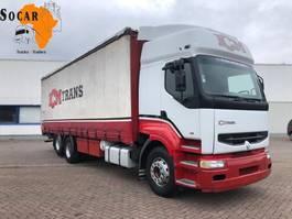 bakwagen vrachtwagen Renault Premium 385 6x2 10 TYRES (Manual pomp) ** 2 CULASSE ** 1998
