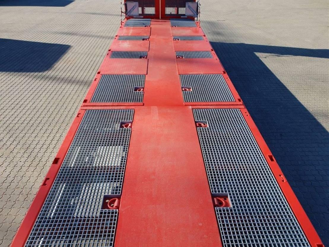 semi dieplader oplegger KAESSBOHRER SLS HS Liftable Platform 2020
