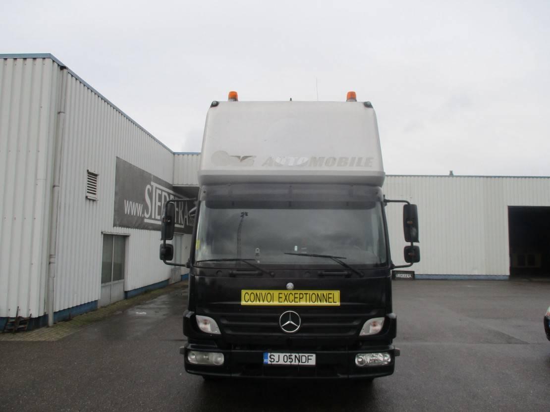 autotransporter vrachtwagen Mercedes-Benz Atego 818 818L , Airco , Car Ambulance + trailer 2006
