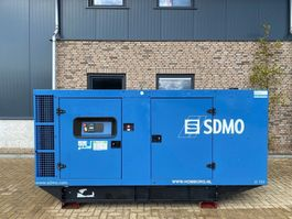 generator SDMO JS 150 John Deere Leroy Somer 165 kVA Supersilent generatorset 2004