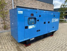 generator SDMO JS180K John Deere Leroy Somer 200 kVA Supersilent generatorset 2003